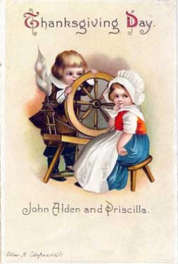 This sentimental postcard was drawn by prolific card illustrator, Ellen H. Clapsaddle (1863-1934), who also did many other Thanksgiving cards.
