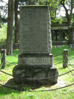 Eliza Hart Spalding Monument, Spalding Park, Nez Perce County, Idaho