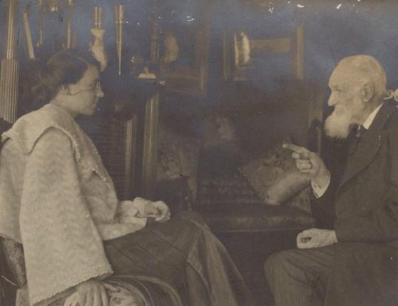 Thomas Allen Gunnell & unidentified woman, circa 1902