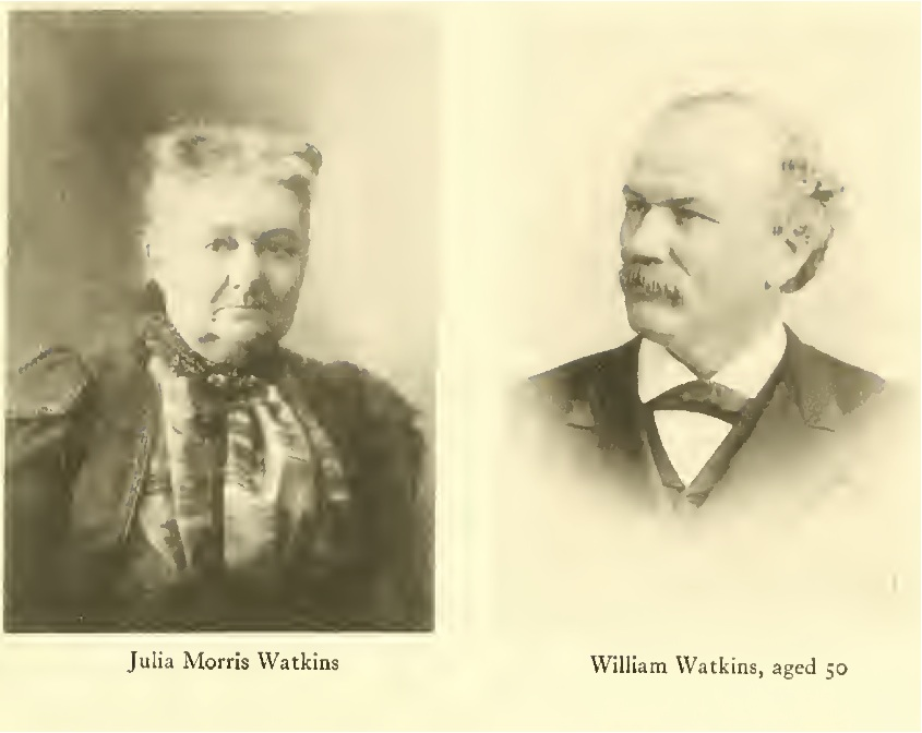 William and Julia Watkins, about aged 50