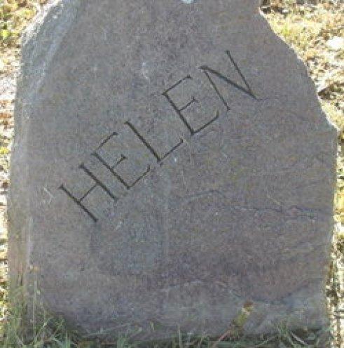 Helen Nelson Hylbom grave marker (c. 1900-1928), the first wife of Tor Emil Hylbom (Maplewood Memorial Lawn Cemetery, Emporia, Kansas - Plot: 35 - 18 - 1)