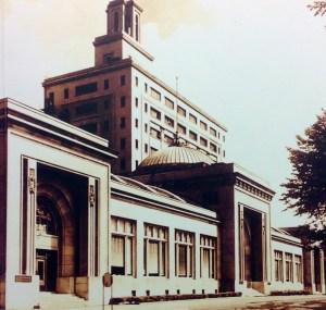 The Watkins Administration Building in Winona, Minnesota