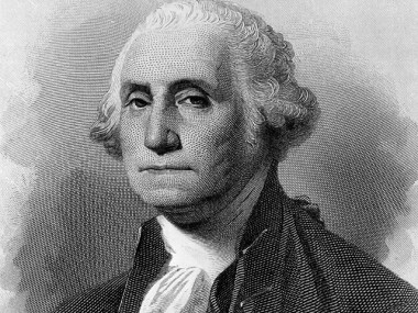 George Washington (1732-1799), 1st President of the United States of America