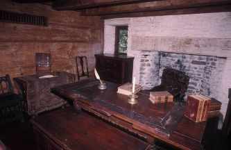 Whitfield house, interior view