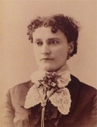 Elizabeth Minor Hancock (1850-1928), my 2nd g-grandmother