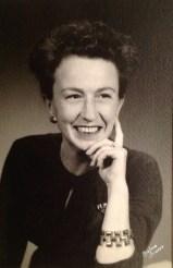 Florence Walholm, 1956