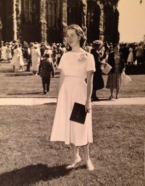 Penny Walhom - Emma Willard commencement, 1958