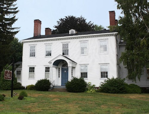 This building now occupies the original Hawley lot (2103 Main Street, Stratford, Connecticut).