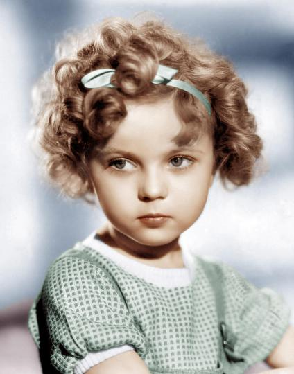 Shirley Temple (1928-2014), child superstar