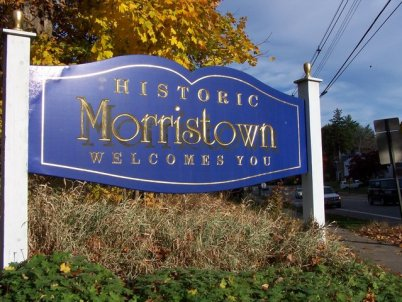 Welcome to Morristown, New Jersey
