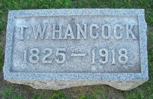 Rev. Thomas White Hancock (18325-1918), my 3rd g-grandfather - photo credit: Alma Darling