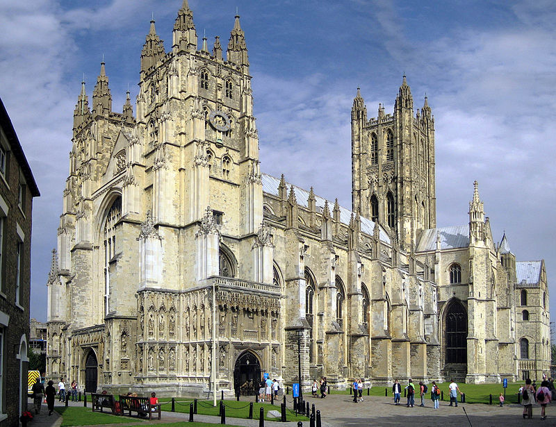 Canterbury Cathedral, Canterbury, Kent, England, UK
