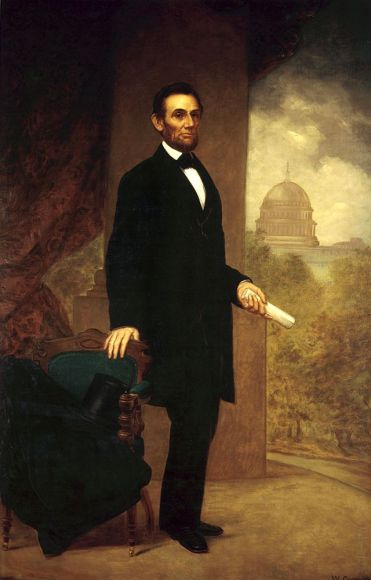 Abraham Lincoln by William F. Cogswell, 1869 (The White House Historical Association)