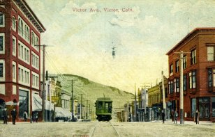 Victor Avenue, Victor, Colorado (about 1899)
