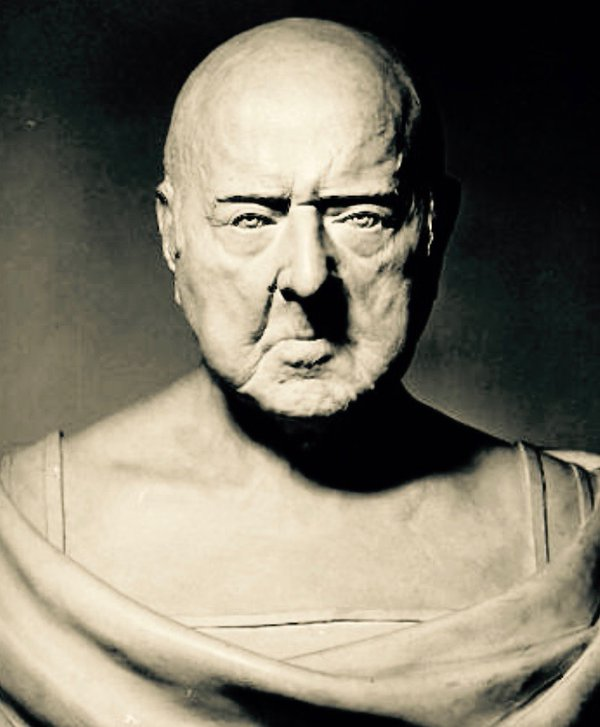This bust of John Adams was made from his life mask at age 90.