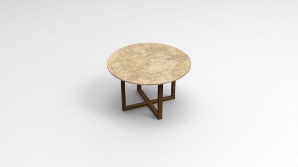 Table basse industrielle petite