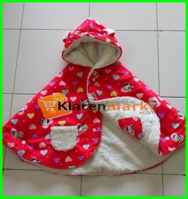 jaket HK merah love