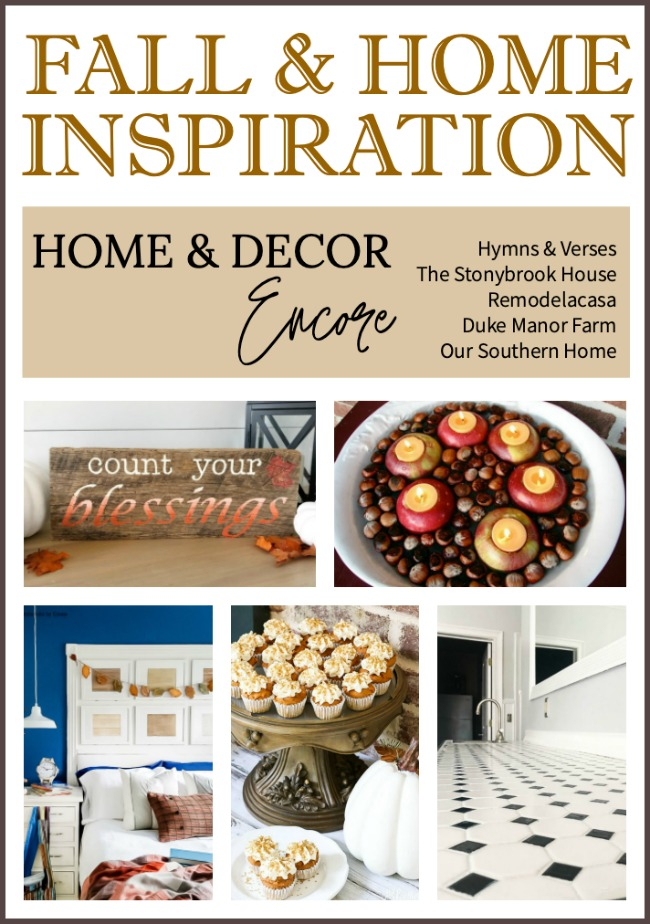 Fall and Home Inspiration Home and Decor Encore
