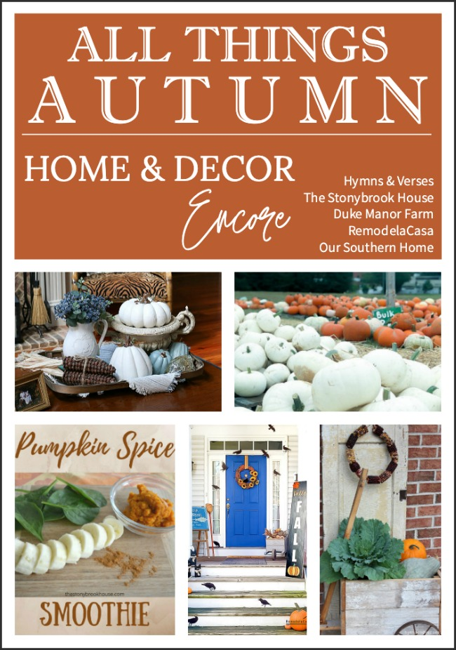 All Things Autumn from Home and Decor Encore