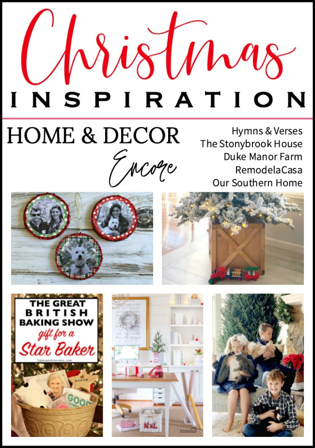 Home and Decor Encore Christmas Inspiration