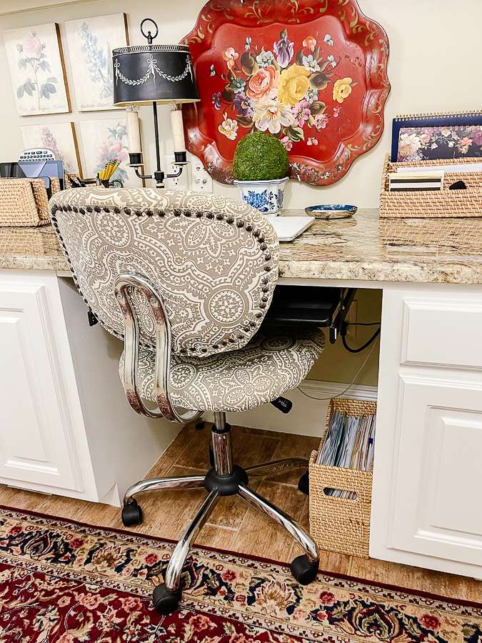 Office Chair Hack - Our Southern Home
