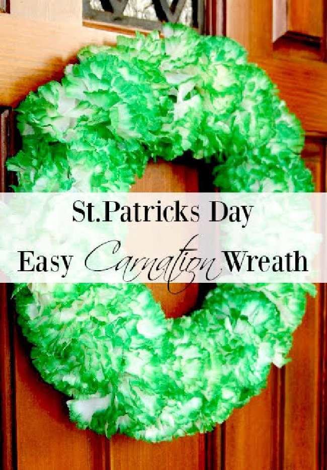 St. Patrick's Day Wreath - Duke Manor Farm