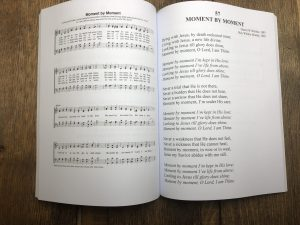 moment by moment song display