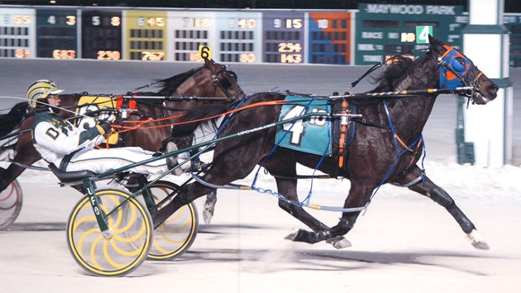 So Reserved winning a race at Maywood Park on March 1, 2013