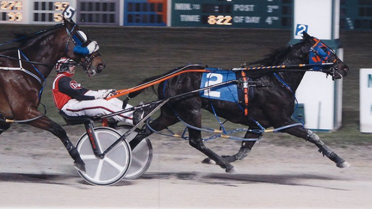 So Reserved winning a race at Maywood Park on December 7, 2012