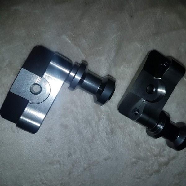 Hyosung GV125 Gt125r gt250r gv250 rear bobbins spools Kit SwingArm Chain Adjuster Plate