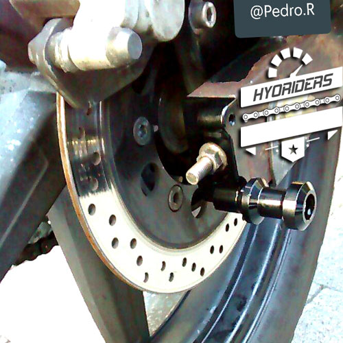 Hyosung GV125 Gt125r gt250r gv250 rear bobbins spools Kit SwingArm Chain Adjuster Plate