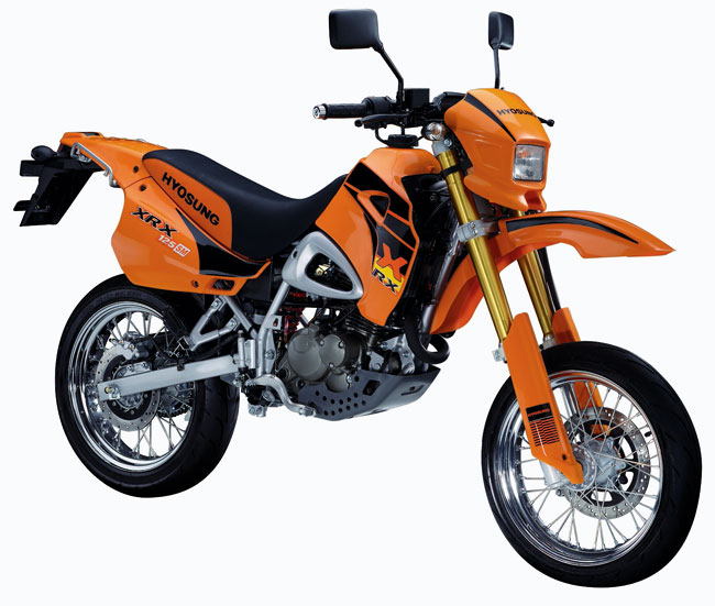 Hyosung RX125 SM + XRX Specifications & Picture Gallery + Wiki