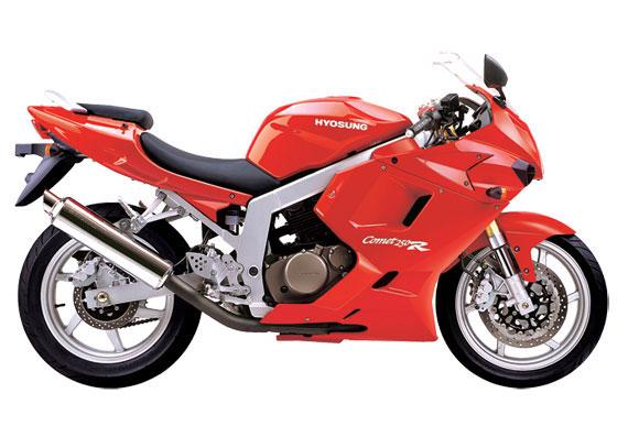 2007-Hyosung-GT250Ra