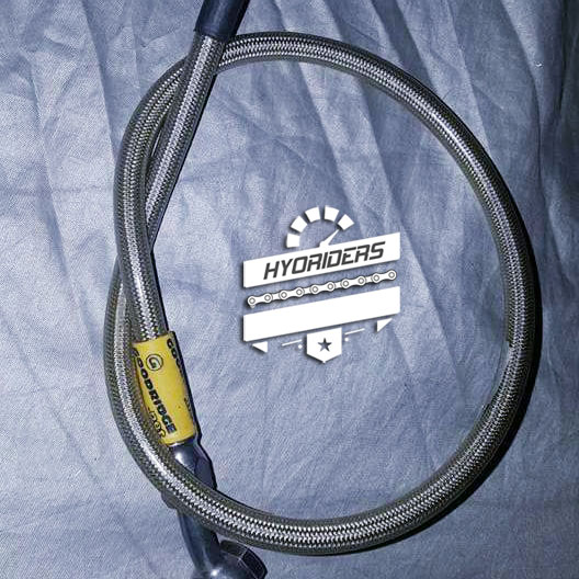 Stainless Steel Rear Brake Line (Hose Kit) :: Hyosung GT125R GT250 GT650 GT125