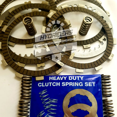 EBC clutch friction plate spring set /& cover gasket Hyosung GV 125 Aquila