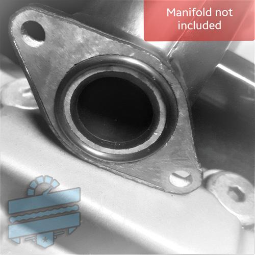 Intake Pipe O-RING x2 {Inlet Boot Seals} - Various Hyosung 125 250 | UK