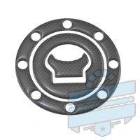 Carbon Fuel Tank Cap Protector (Pad Cover) :: Various Hyosung Models