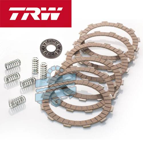 Premium Clutch Plates & Springs Kit (Friction Drive Overhaul) - Hyosung GD250N GD250R
