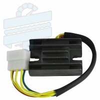 Regulator Rectifier Hyosung RX125SM RT125D XRX