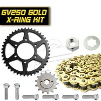 Premium X-Ring Chain & Sprocket Set :: Hyosung GV250