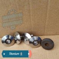 Titanium Cylinder Head Cover Bolts [x4] [Engine Valve Rocker Cam] :: Hyosung GV250 GV125 GT125 GT125R GT250 GT650 GV650 GD250 MS3