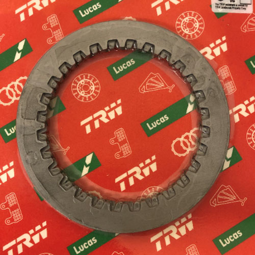 Steel Friction Driven Clutch Metal Plates x6 - Hyosung GV650 GT650 GT650R ST7 TE450