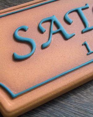 オリジナル陶器表札M11プチイブ
