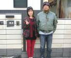 川田美術陶板WEB表札専門店お客様の声・取付け写真J51黒小紋
