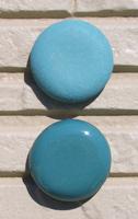 オリジナル陶器表札開運風水八角ベース色グリーン