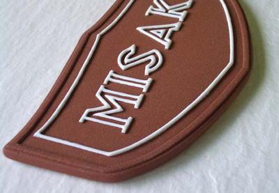 オリジナル陶器表札M14プチ紋章
