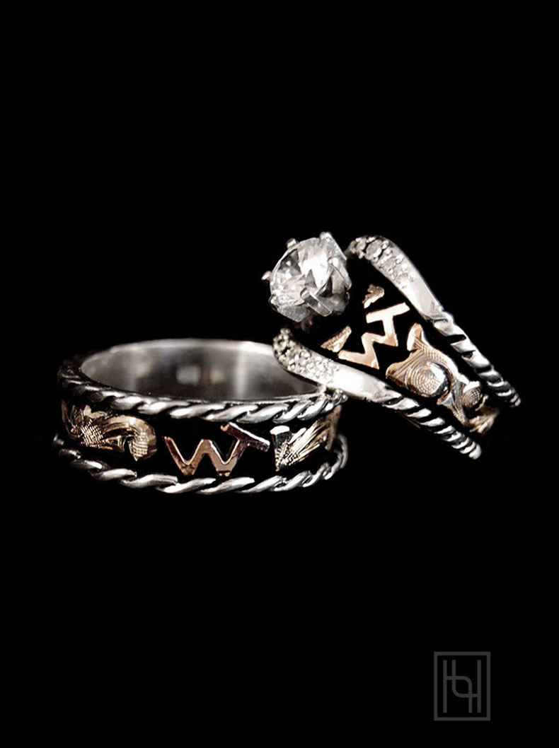 Adore Forever Ring Set Custom Ring Collection By Hyo Silver
