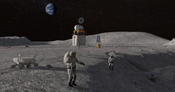 NASA, 2024'e Kadar Ay'a Astronotların İniş Yapamayacağını Kabul Etti