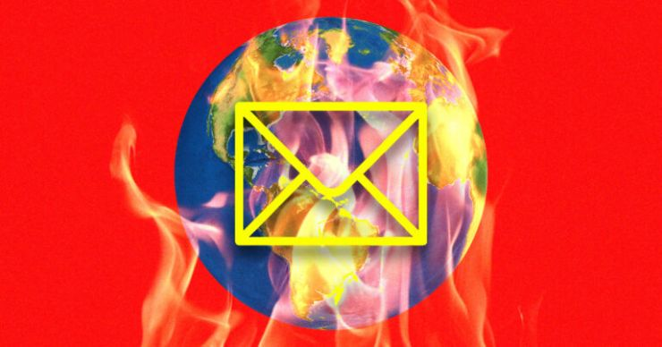 Gereksiz E-postalar Çevreye Zarar Veriyor (Şaşırtıcı Araştırmalar)