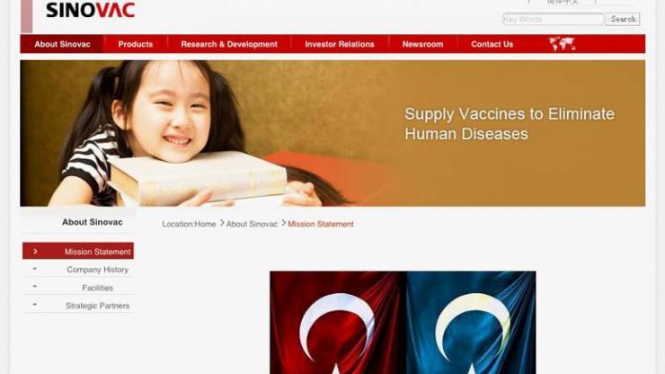 Türk Hackerlar, Çinli Aşı Üreticisi Sinovac Sitesine Doğu Türkistan Bayrağı Koydu